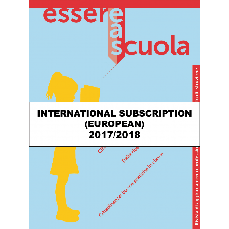 ESSERE A SCUOLA International Subscription Europe