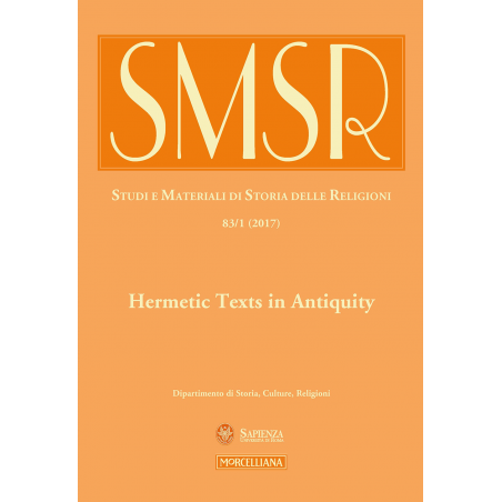 Hermetic Texts in Antiquity