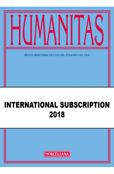 HUMANITAS International Subscription 2018