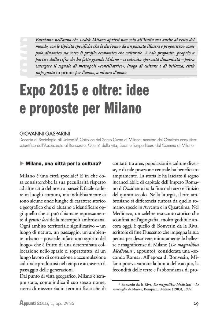 5_Sintesi_articolo_Gasparini_APPUNTI_1-2