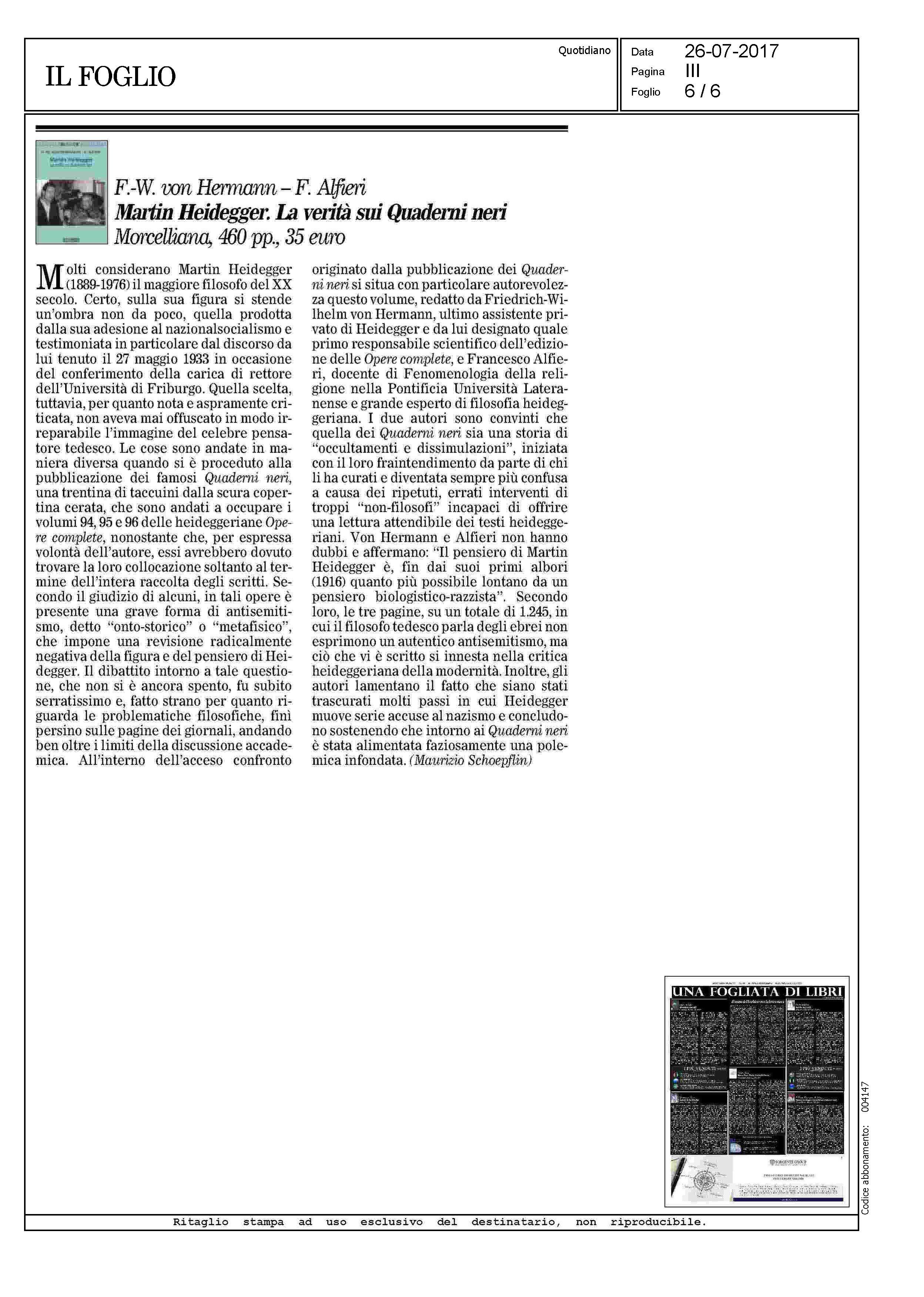 Morc Il Foglio 26 7 2017 Quaderni neri.j